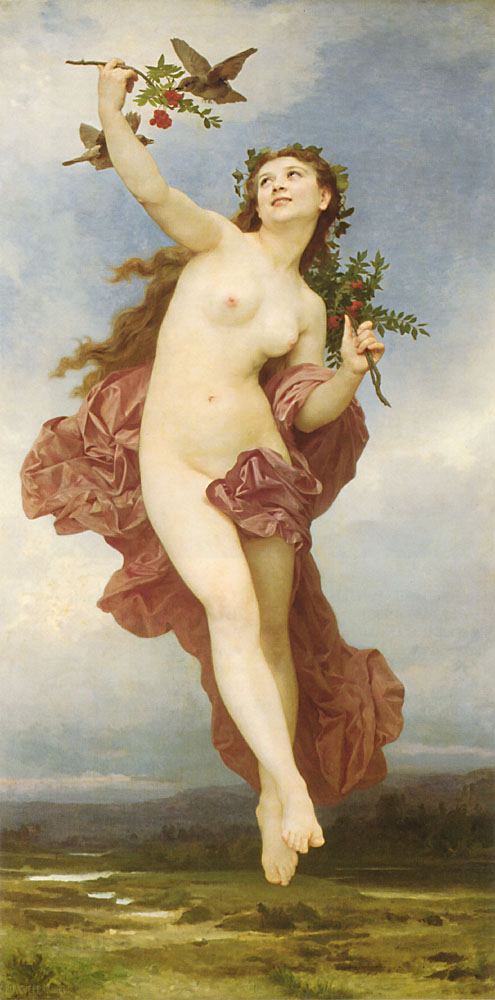 William Adolph Bouguereau Le Jour 1884