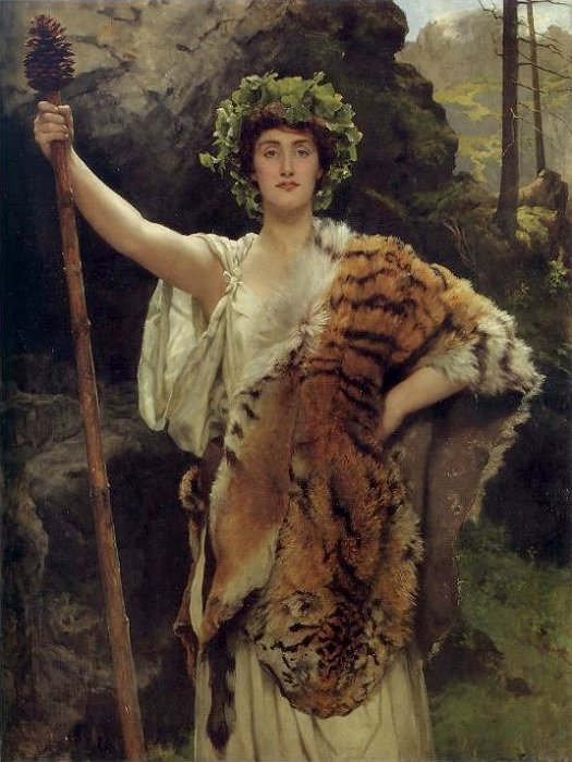 John Collier The Priestess of Bacchus 19th Century