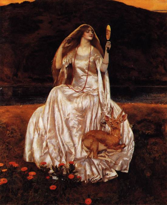 Frank Cadogan Cowper, The Damsel of the Lake Called Nimue the Enchantress, 1924