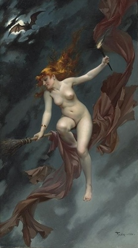 Luis Ricardo Falero, The Witches' Sabbath, 19th Century