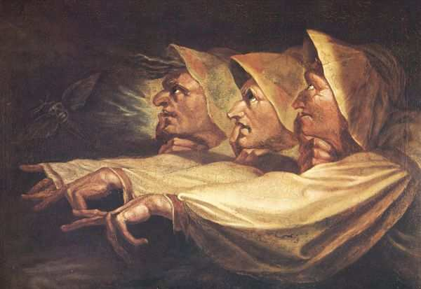 Henry Fuseli, Die Drei Hexen (The Three Witches), 1783