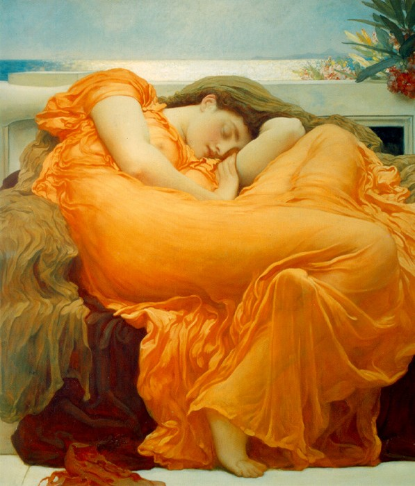 Frederic Leighton, Flaming June, 1895