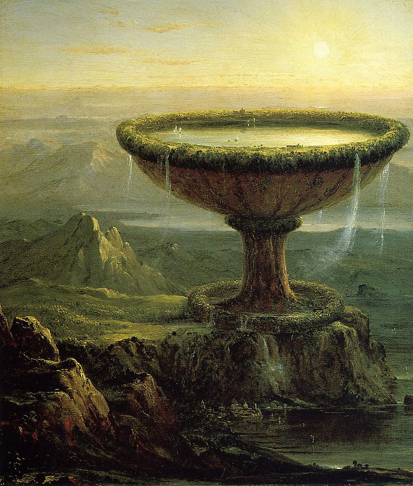 Thomas Cole, The Titan's Goblet, 1833