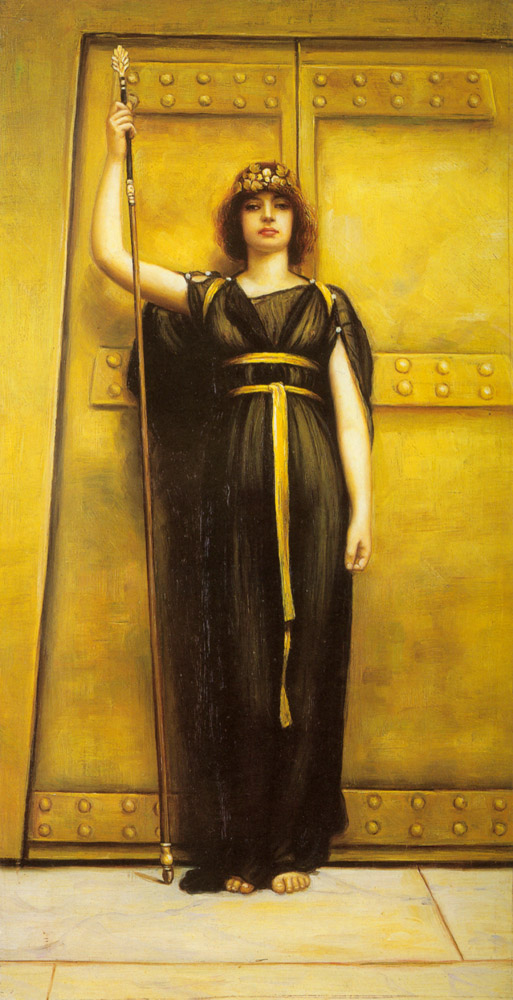 John William Godward, The Priestess, 1895
