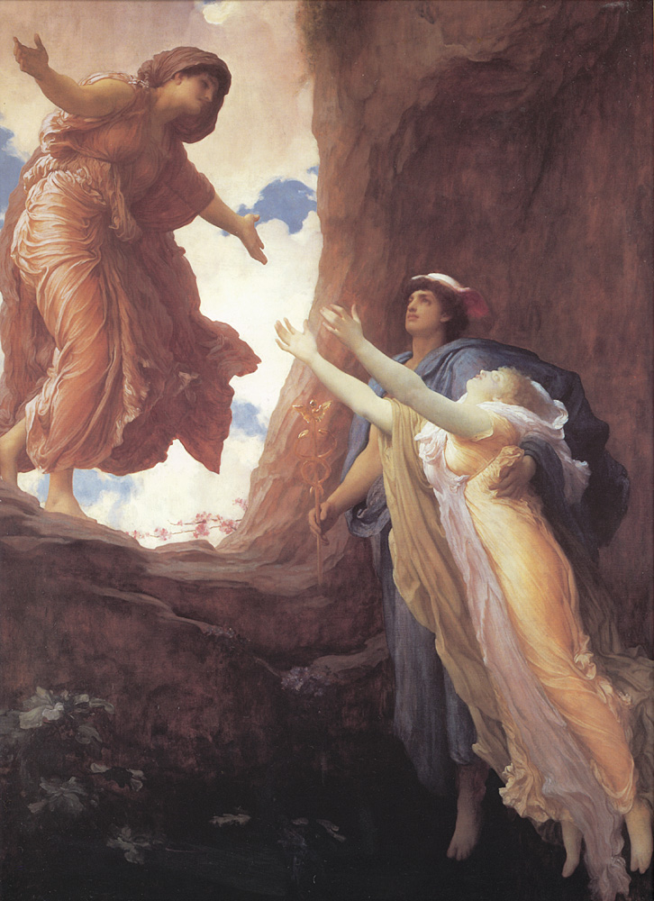 Lord Frederick Leighton, Return of Persephone, 1891