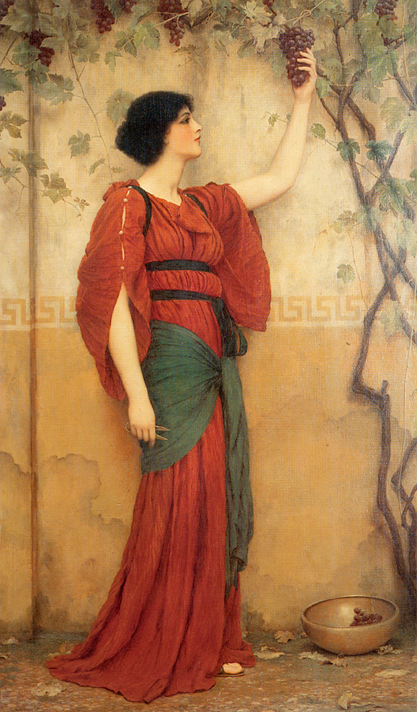 John William Godward, Autumn, 1900