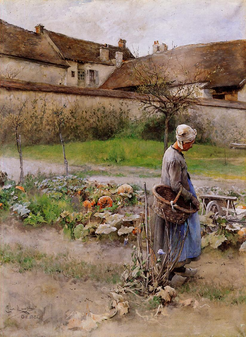 Carl Larsson, October, 19th Century