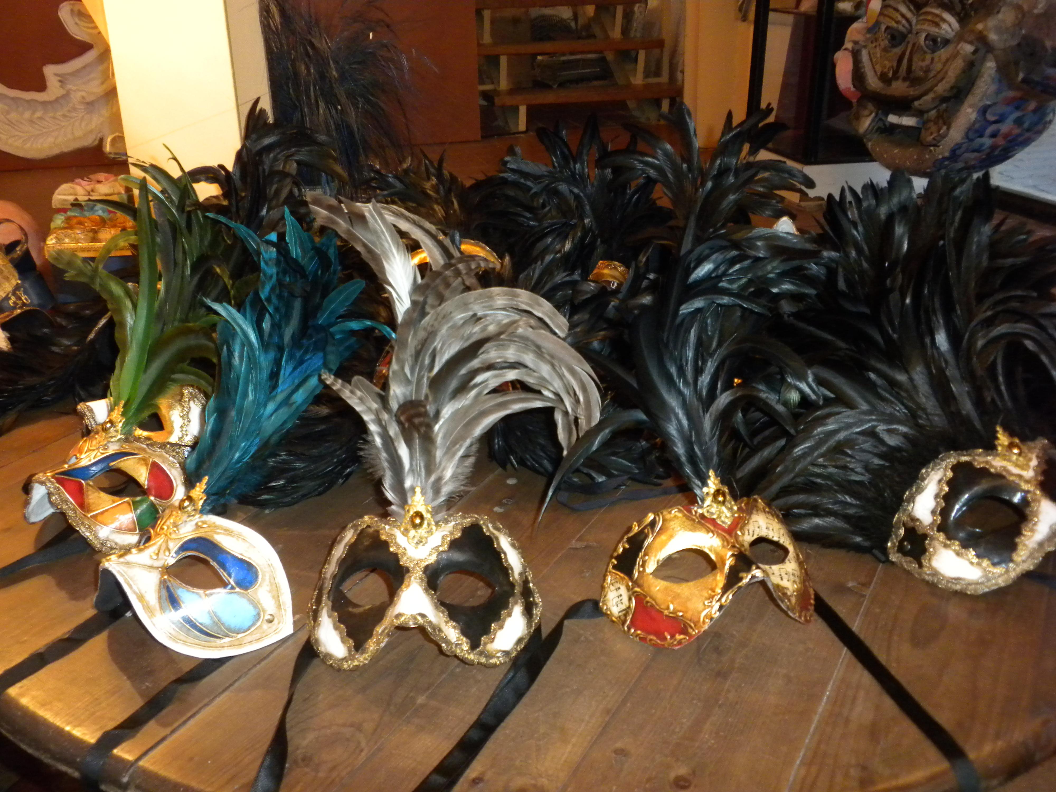 Arlequín Máscaras, Via Laietana Barcelona Shop, 2010