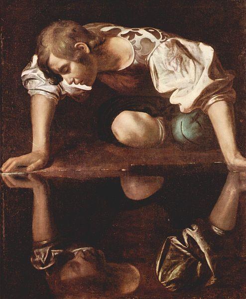 Michelangelo Merisi da Caravaggio, Narcissus, 1594-96