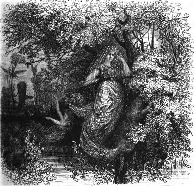 Holda, die gütige Beschüzerin, Wägner Wilhelm, 1882, Wikimedia Commons