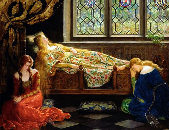 John Collier, Sleeping Beauty, 1921