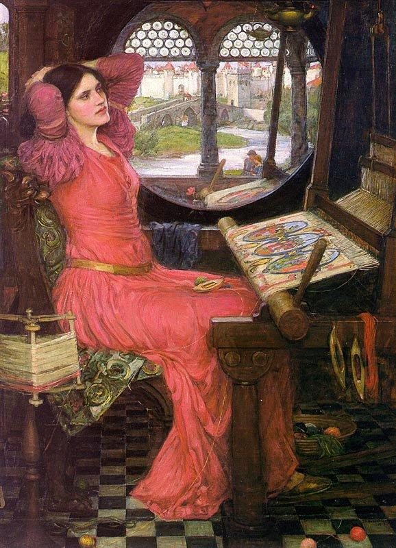 John William Waterhouse, I Am Half Sick of Shadows Said the Lady of Shalott, 1916