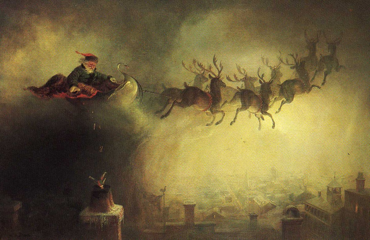 William Holbrook Beard, Santa Claus, 1862