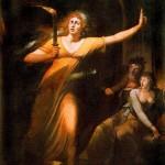 Johann Heinrich Füssli, Die Schlafwandelnde Lady Macbeth ,1781-84