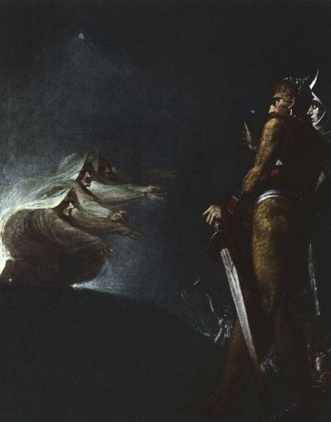 Johann Heinrich Füssli, Maבbeth Banqo and the Witches, 18th Century