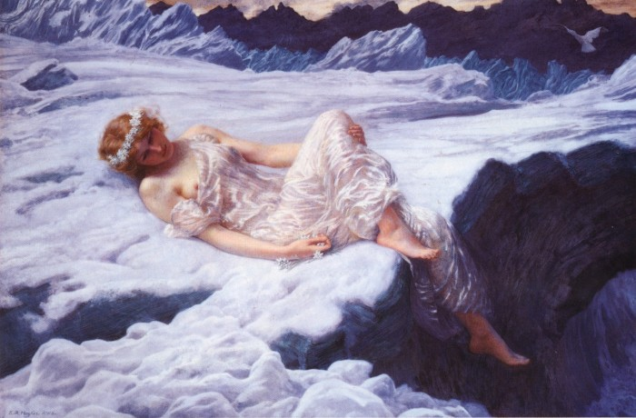 Edward Robert Hughes Heart of Snow 19th Century