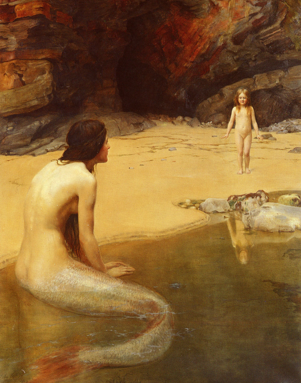 John Collier The Land Baby 1909