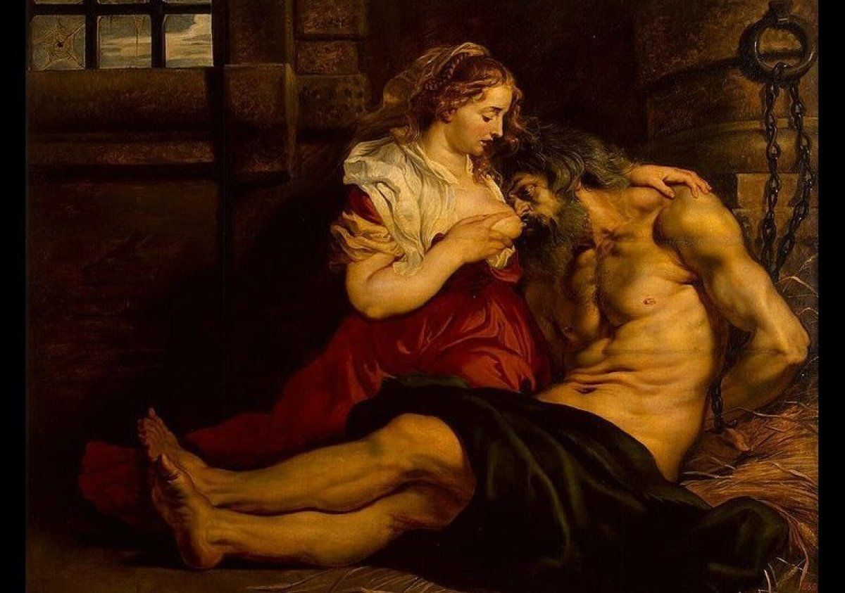 Peter Paul Rubens, Roman Charity, 1612