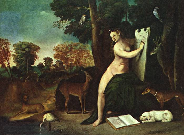 Dosso Dossi Circe and her Lovers in a Landscape 1490-1542