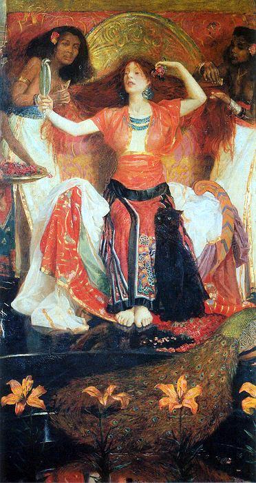 John Liston Byam Shaw Jezebel 1896