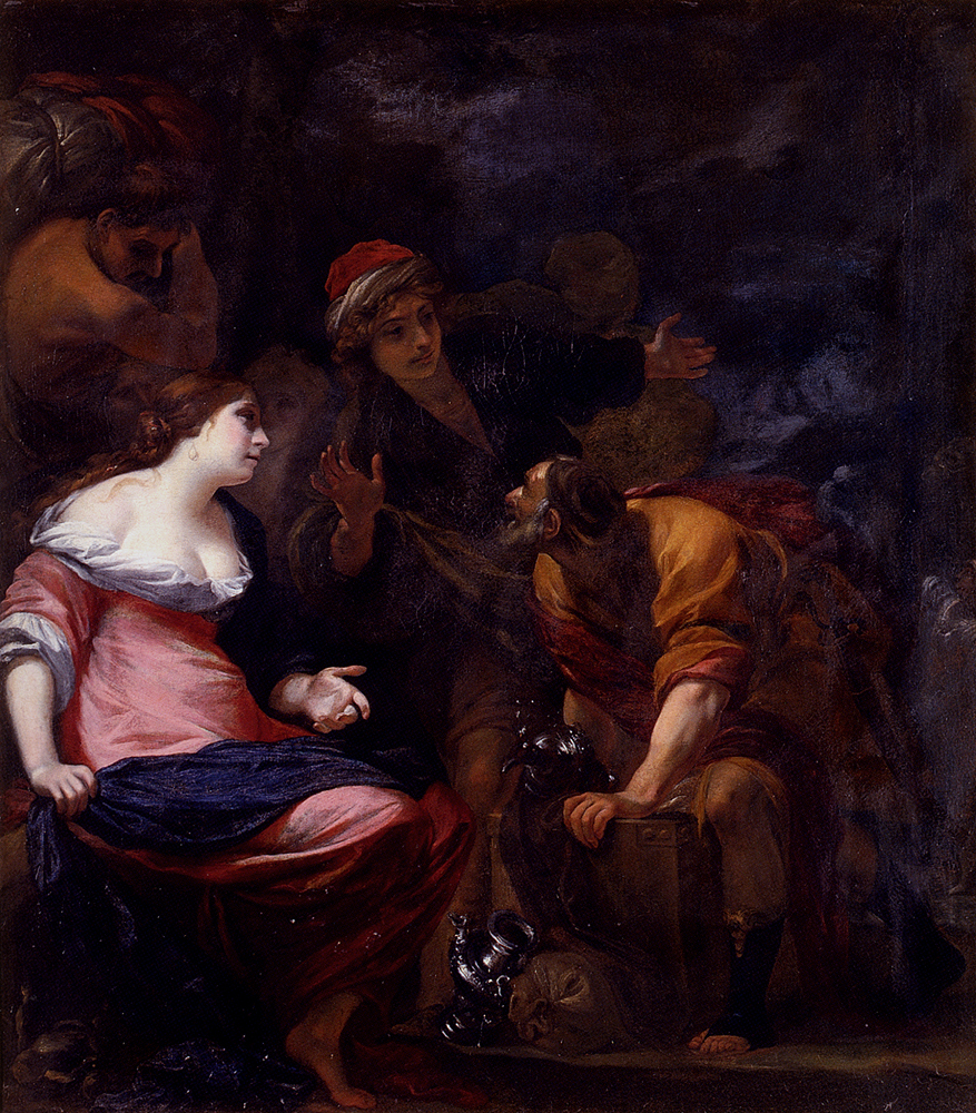 Simone Pignoni Laban Searching for the Household Idols 1611-1698