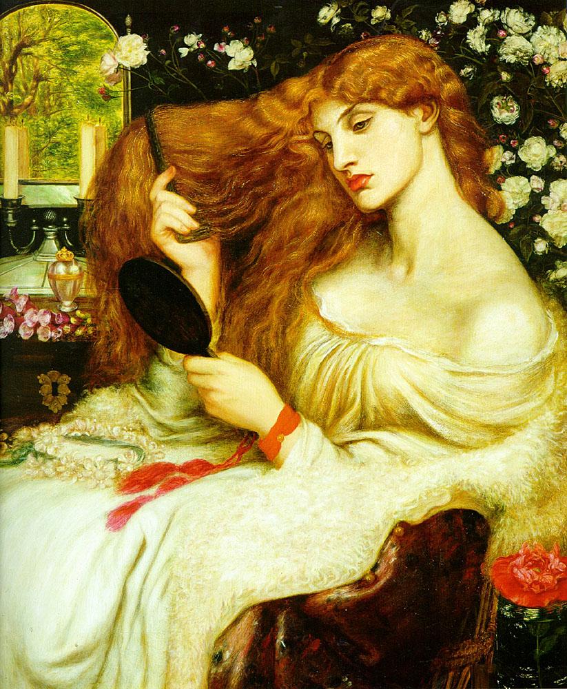Dante Gabriel Rossetti Lady Lilith 1868