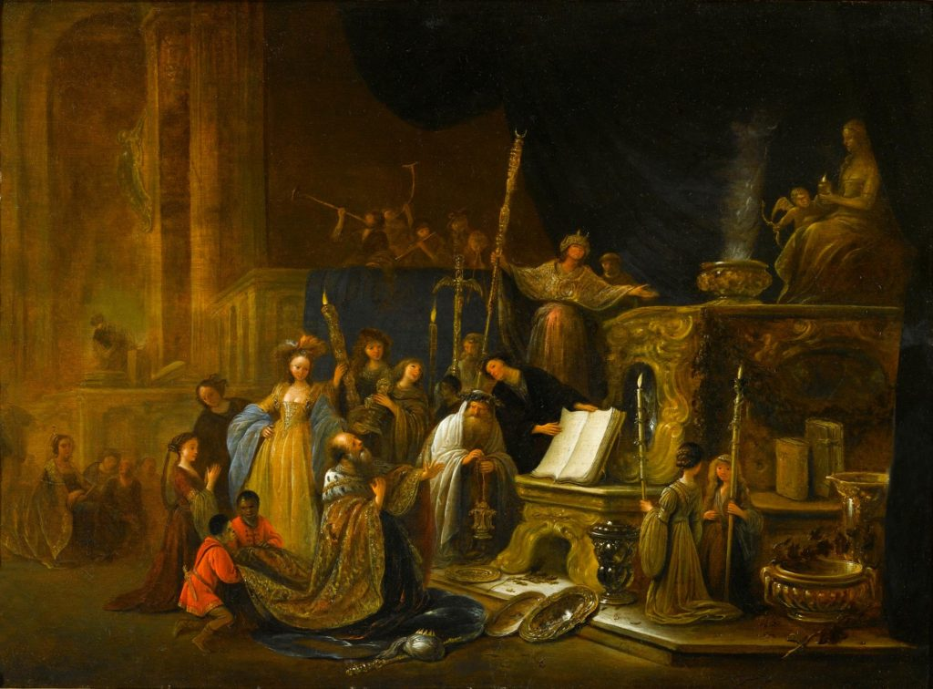 Jacob Willemsz. de Wet I The Idolatry of King Solomon 1671