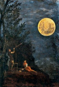 Donato Creti, Astronomical Observations: The Moon, 1711