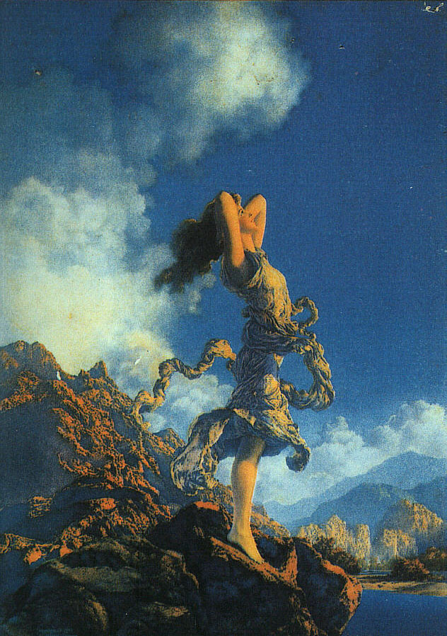 Maxfield Parrish Ecstasy 1929