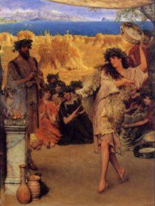 Sir Lawrence Alma Tadema, A Harvest Festival, 1880